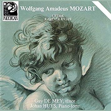 Mozart: Lieder & Kantate KV. 619