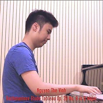 Etude Tableau Op. 39 No. 9 in D Major