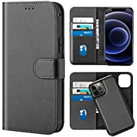 Lonli All-in-One Detachable Leather Wallet Case for 5.4