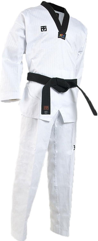 Mooto Korea Taekwondo BS4 Basic Black VNeck Uniform Dan Dobok Uniforms MMA Martial Arts Karate Hapkido Judo Beginner