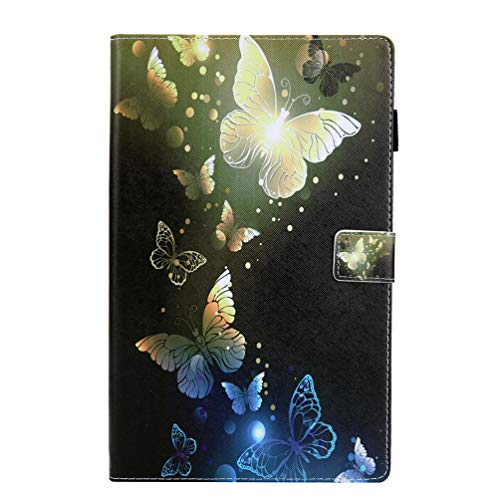 Nasuza - Funda para Kindle Fire HD 10 (5ª/7ª generación, 2015/2017), función Atril multiángulo con función de Encendido y Apagado automático, 10,1 Pulgadas, Butterfly