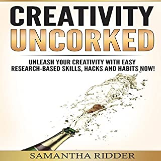 Creativity Uncorked audiobook cover art