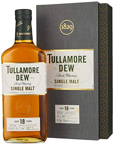 Tullamore Dew Tullamore D.E.W. 18 Years Old Single Malt Irish Whiskey  Whisky (1 x 0.7)