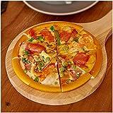 LUCKFY 8 PCS Faux Artificielle Pizza Décoration PU Matériel Simulation Alimentaire Modèle de Cuisine Jouets Photographie Props (Conseil Inclure Pizza Pad)