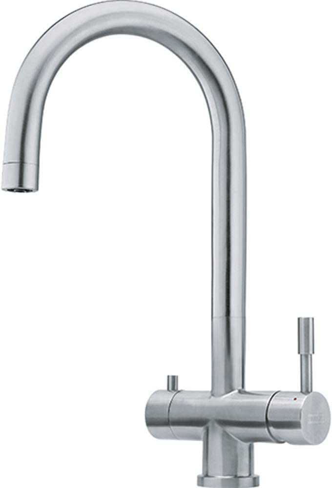 Franke 120.0179.979 Grifo de Cocina con Sistema de filtración de Agua, Acero Inoxidable
