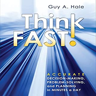 Think Fast! audiobook cover art
