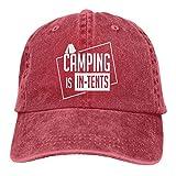 RFTGB Gorras Unisex Accesorios Sombreros Gorras de béisbol Sombreros de Vaquero Camping Denim Baseball Cap, Unisex Vintage Dad Hat, Golf Hats, Adjustable Plain Cap