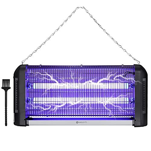 YUNLIGHTS 30W Insektenvernichter Elektrisch Mückenschutz Fliegenfalle Moskito Killer Mückenfalle Anti Mücken Insektenfalle Elektrische Insektenvernichtungslampe mit UV-Licht für drinnen und draußen