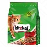 Kitekat Trocken-Katzenfutter mit Rind, Lamm & Gemüse 4kg