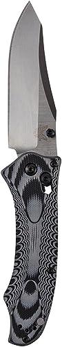 Benchmade Couteau Pliant Noir gris