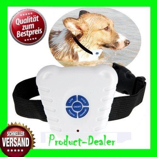Hunde Halsband Antibell Ultraschall Erziehungshalsband