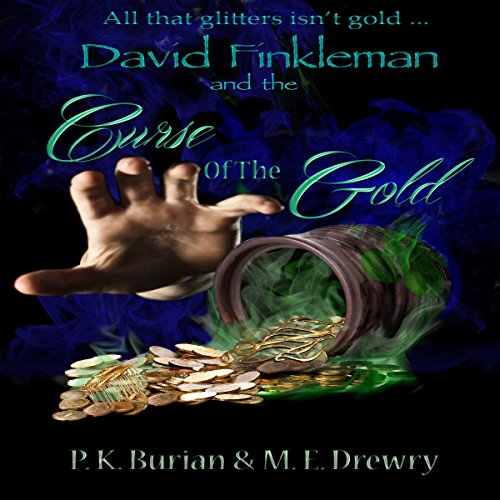David Finkleman and the Curse of the Gold audiobook cover art