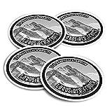 Pegatinas de vinilo (juego de 4) 10 cm – BW – La Rosiere France Ski Snowboard Resort Fun Stickers para portátiles, tabletas, equipaje, reserva de chatarra #40642