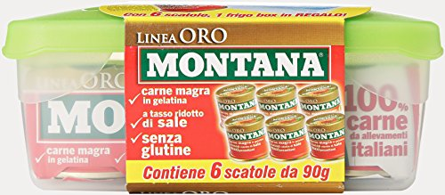 Montana Carne Gel Linea Oro 90Grx6