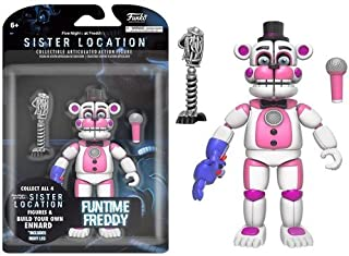 Funko Five Nights at Freddy's Funtime Freddy Articulated Action Figure, 5