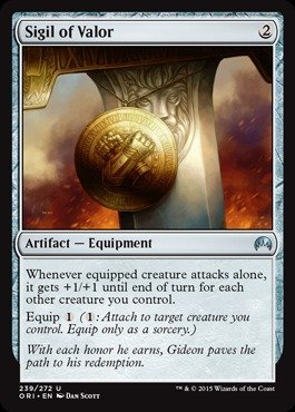 Magic: the Gathering - Sigil of Valor (239/272) - Origins - Foil by Magic: the Gathering