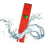 TekcoPlus Portable Pen-Type -1999mV ~ +1999mV Millivolts Redox ORP Water Meter Kit Tester Backlight LCD Pool Aquarium Hydroponics Testing Water (ORP Water Meter Tester)