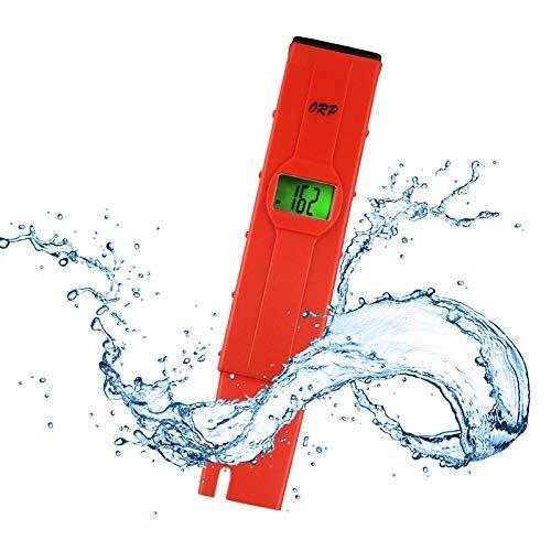 -1999mV ~ + 1999mV Millivolts Pen-Typ Digital Redox ORP Wasserzähler Tester mit Hintergrundbeleuchtung LCD Pool Aquarium Hydroponics Spas Wasser-System