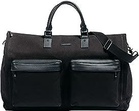 Hook & Albert Twill Gen. 2 Garment Weekender Bag (Black)