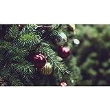 Lazodaer Kit de pintura de diamante redondo completo 5D para adultos y principiantes, bordado artes, colorido árbol de Navidad de 39,7 x 30 cm