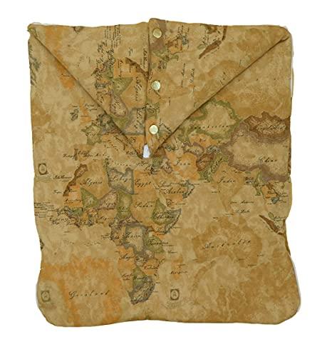 ALVIERO MARTINI 1 CLASSE Saco de bebé con impresión de mapa geográfico. multicolor Talla única