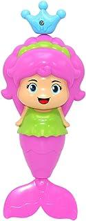 NUOLUX Cute Mermaid Baby Bath Toys Bathtime Fun Spring Toys for Babies and Kids (Random Color)