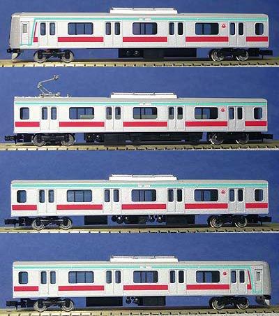 Tokyu Series 5000 Den-en-toshi Line w/Motor (Basic 4-Car Set) (Model Train)