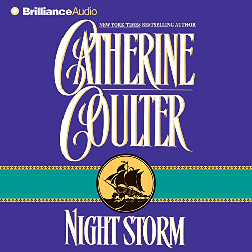 Night Storm audiobook cover art