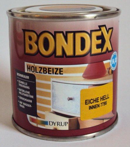 Bondex Holzbeize f. d. Wohnraum, Eiche Hell Innen 7795 / 0,25 Liter