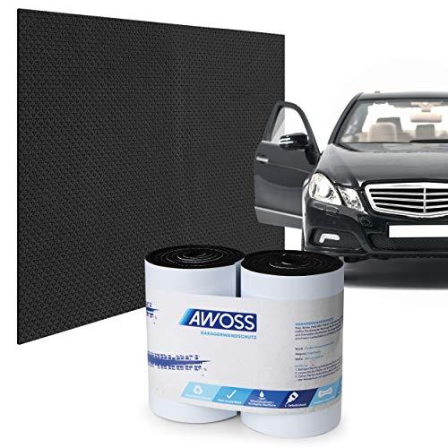 AWOSS® Garagenwandschutz selbstklebend – Garagen Wandschutz [200x20x0,65cm] – Bombenfester Kleber – Umweltfreundliches Material – Stoßabweisender Türkantenschutz Auto