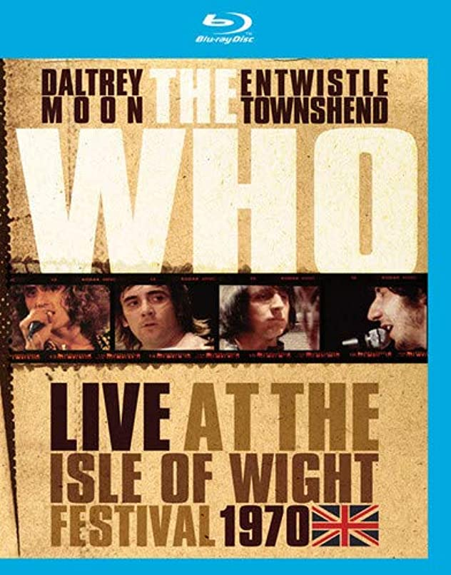 試験虐殺プレーヤーThe Who Live at the Isle of Wight Festival 1970 [Blu-ray] [Import]
