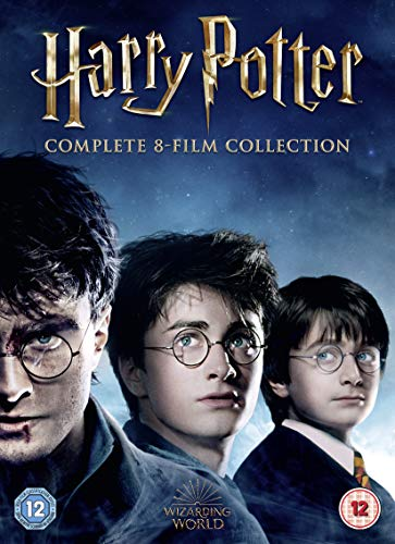 Harry Potter: The Complete 8 Film Collection (16 DVD) [Edizione: Regno Unito] [Import]