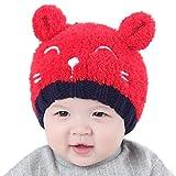 BlueSterCool Invierno Niño Niña Sombrero Bebé de Punto Mantenga el Sombreros Caliente...