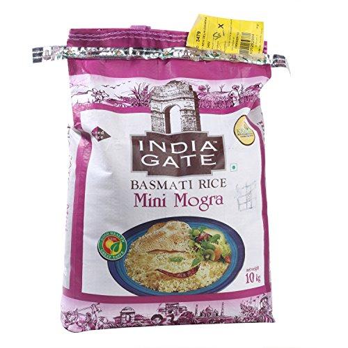India Gate Rice - Basmati Mini Mogra, 10kg Pack