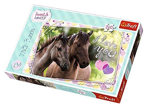 Trefl - 13213 - Puzzle Sweet Et Lovely Chevaux - 260 Pièces