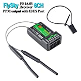 Flysky FS-iA6B Receptor 6 Canales RC Receiver PPM Output with iBus Port 2.4GHz RC Receiver Compatibile Con i6 i6S i10 i6x RC Transmisor for FPV Racing RC Drone Quadcopter by LITEBEE