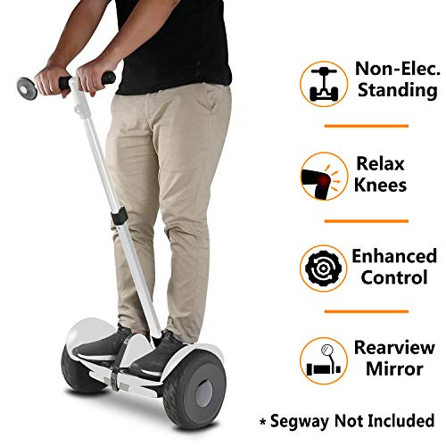 AUBESTKER Handlebar Kickstand for Segway Ninebot, Adjustable Height - Release Knee Pressure - Safety Aceessories 1 Kit