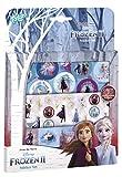 Frozen II 680692 Disney Stickerset: 3 Stickerbögen mit zauberhaften Motiven von Anna & ELSA, Olaf und einem Landschaftsmotiv, Mehrfarbig -