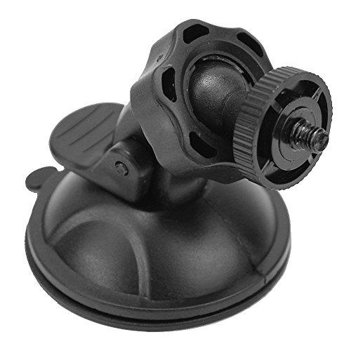 Vektenxi 1 Stück schwarz Auto Windschutzscheibe Saugnapf Halterung für Action Cam Sports Kamera bequem und praktisch
