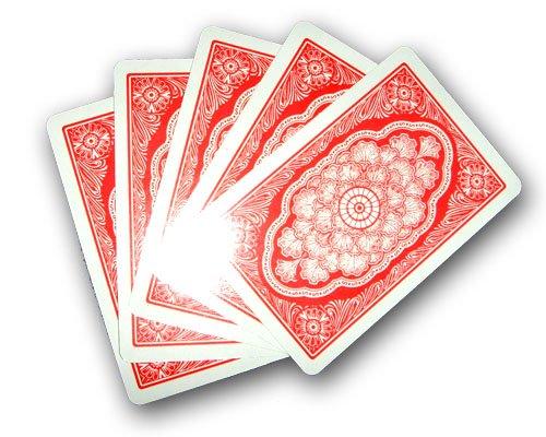 HAC24 Gezinkte Spiel Karten Poker Trickkarten Skat Deck Spielkarten Pokerkarte faszinierende Zauberkarten