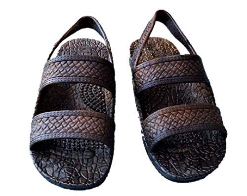 J-Slips Toddler Hawaiian Jesus Sandals w/Back Strap (Kona TDL 7)