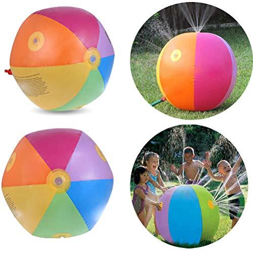 噴水おもちゃ 噴水マット 噴水 おもちゃ プレイマット 子供 夏対策 100-170CM直径 親子遊び 家庭用 アウトドア 庭 芝生遊び シャワー (ウォータージェットの直径75CM)