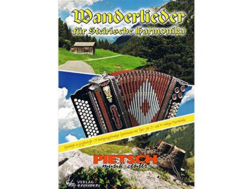 Wanderlieder, für Steirische Harmonika