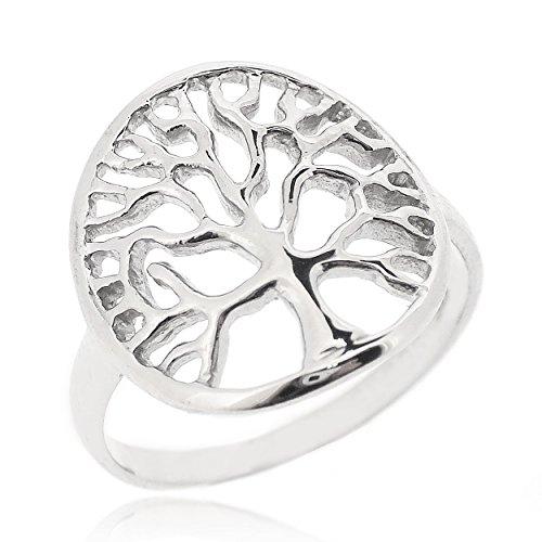 Sovats Damen Lebensbaum-Ring, Größe 54
