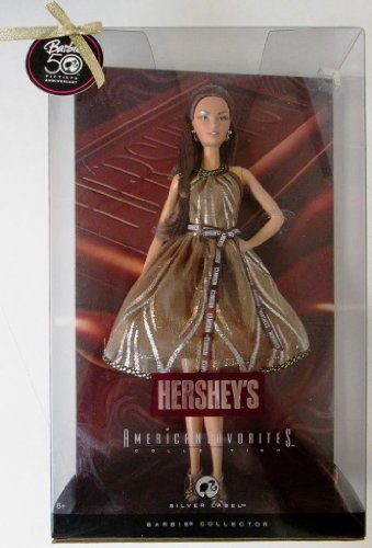 Barbie Collector Doll Silver Label Hershey Chocolate Doll