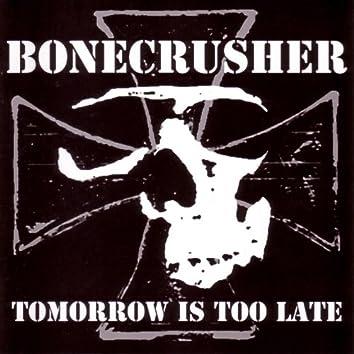 Tomorrow Is Too Late