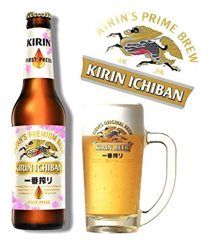 6 x Kirin Ichiban Bier aus Japan, in der 0,33 l Flasche (5,41E/L)