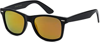 OWL Pouch Retro Rewind Polarized Designer Mirrored Lens Unisex Sunglasses