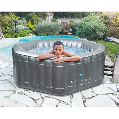 NETSPA Spa Gonflable Silver 5/6 Places