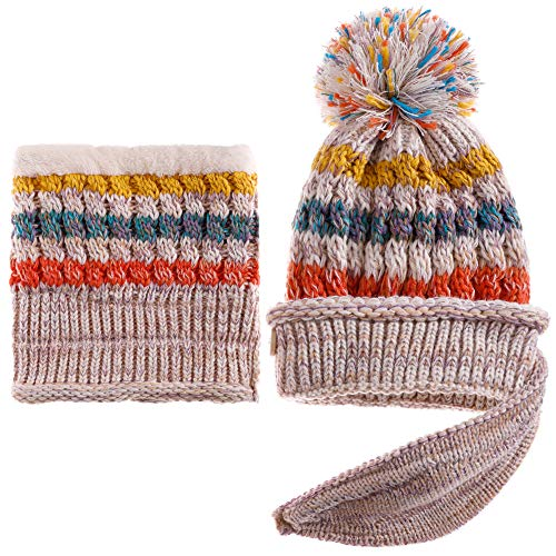 Dosoni Women Girl Winter Hats Knit Soft...